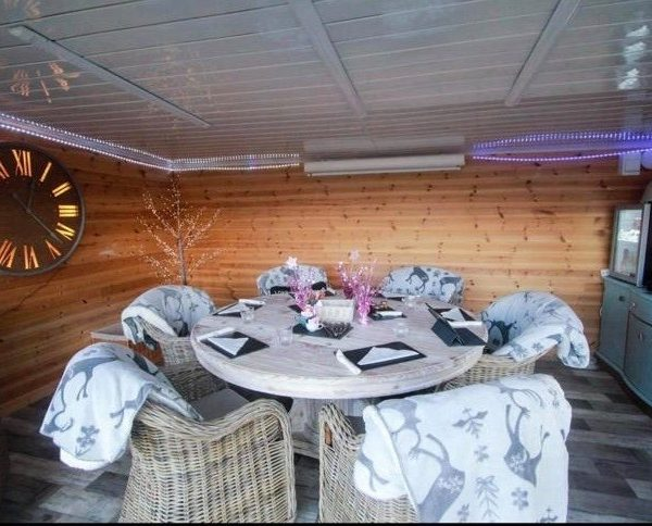 Book our Time Pod for something extra special! Up to