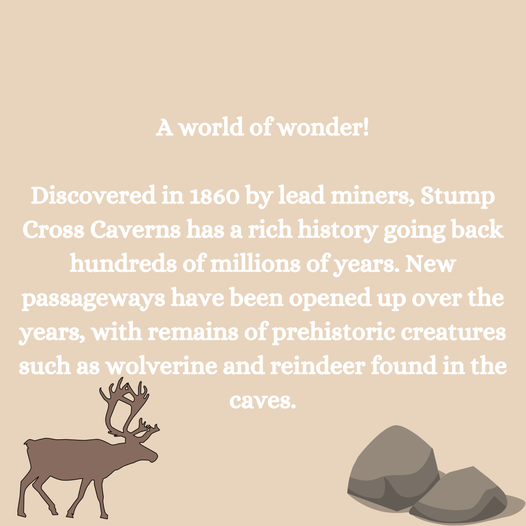 Can you believe Stump Cross Caverns was discovered over 150