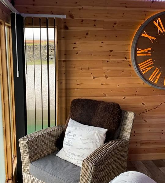 Come and enjoy our beautiful time out pod in your