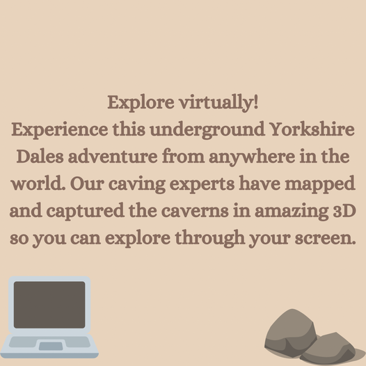 Did you know you can explore the caves from the
