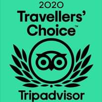 Do you know we have a Trip Advisor 2020 Travellers'