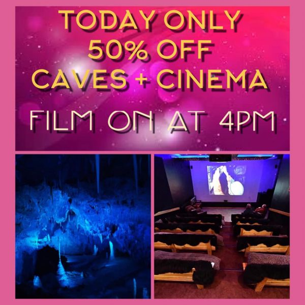 FOR THIS WEEKEND ONLY! We are offering HALF PRICE CAVES