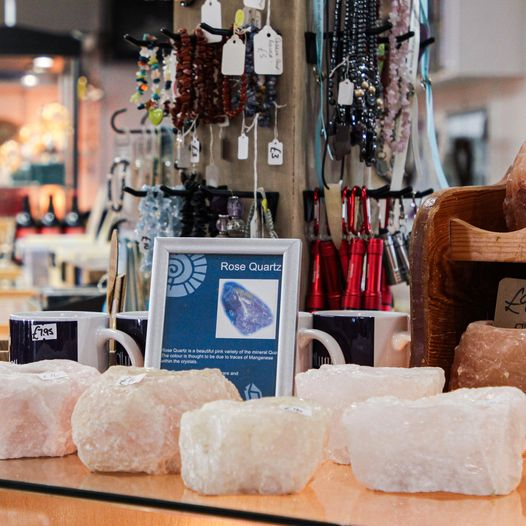 Have you seen the beautiful crystals in our shop? #caves