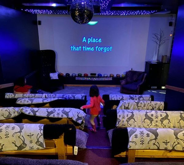 Hire our cinema room for up to 6 people! We