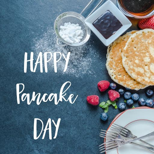ITS PANCAKE DAY- have a flipping good day!! What's your