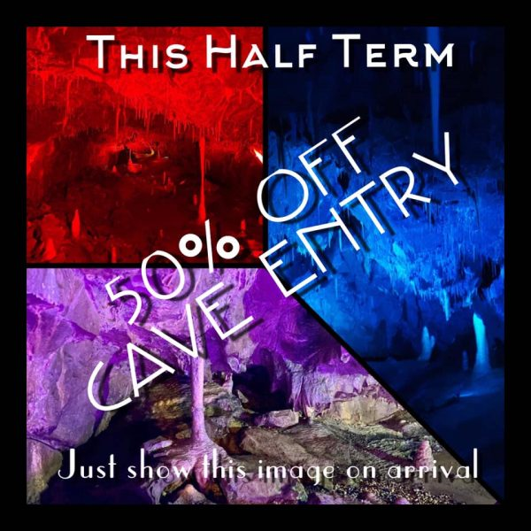 Last day to use our HALF PRICE CAVE ENTRY offer!