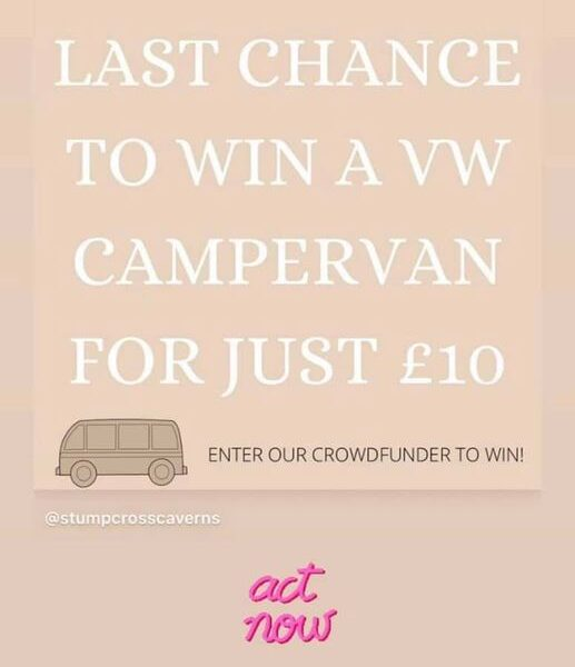 Last few days to be in with a chance to