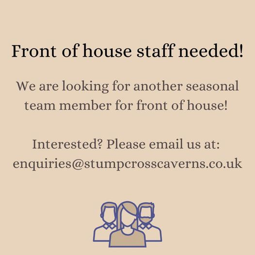 Morning everyone! We are looking for an experienced person t