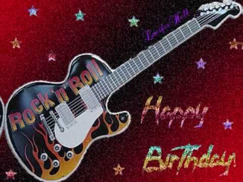 (Rock) Happy Birthday !!!!! Song