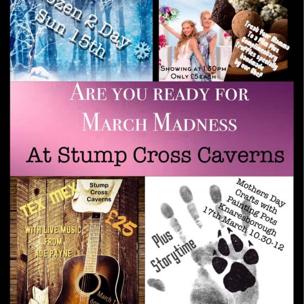 Sooo much happening at Stump Cross in Mad March....