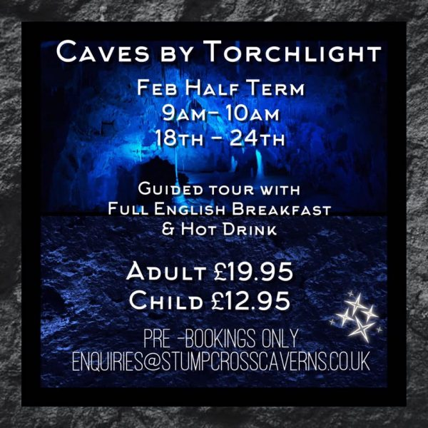 Still time to book Caves by Torchlight this week folks!!