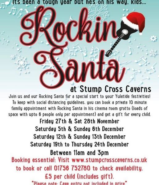 We are getting all festive here up at Stump Cross!