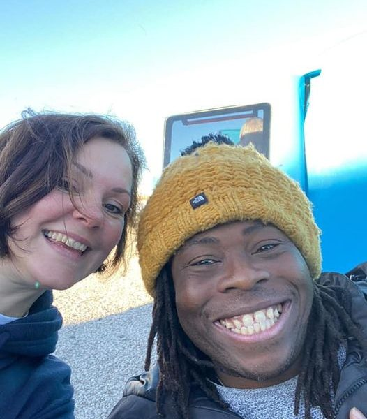 Who wants a free cave ticket…?? Ade Adepitan