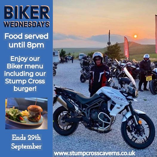 Why not pop in for our next biker night tomorrow?