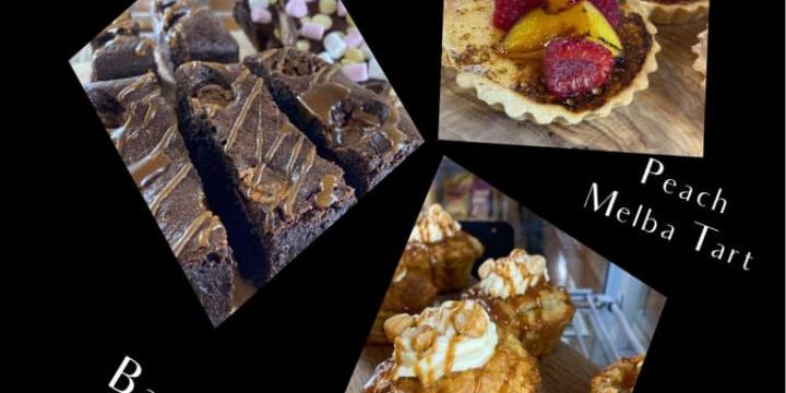 A few yummies available now at the Time Cafe.