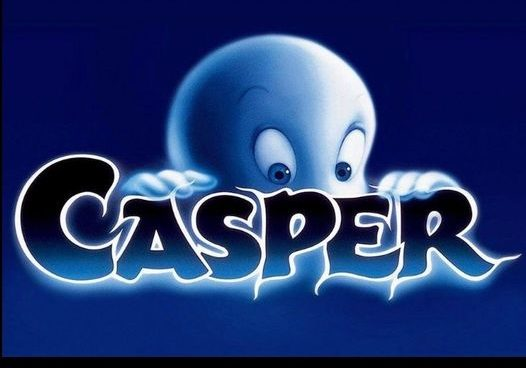 Have you seen that we are showing Casper the ghost