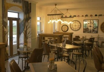 How inviting does our cafe look?! We can't wait to