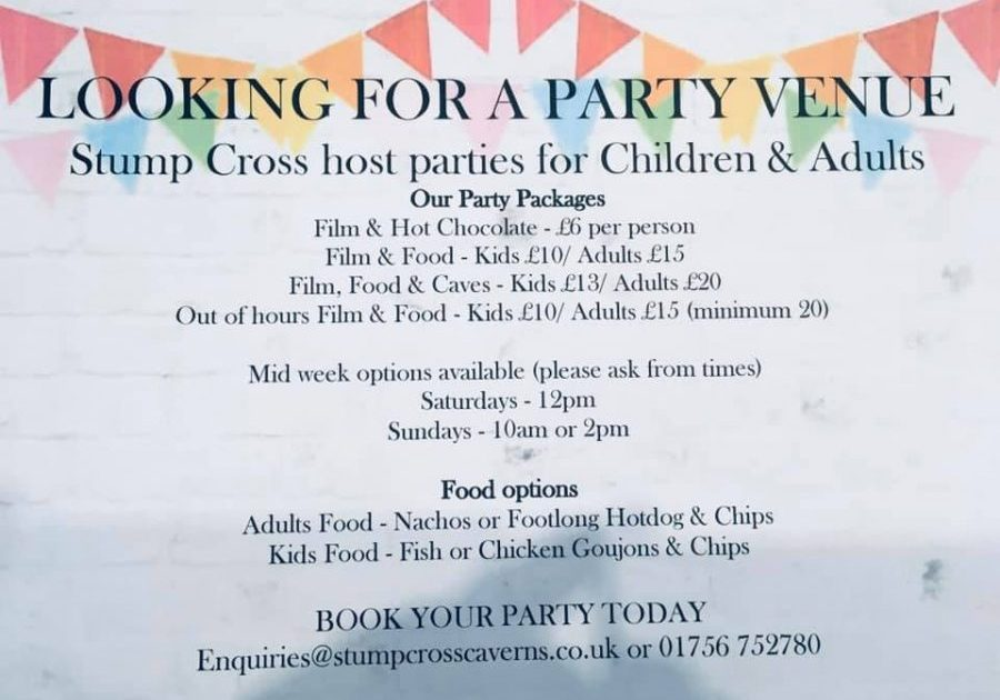 Looking for a party.... Stump Cross is the place to