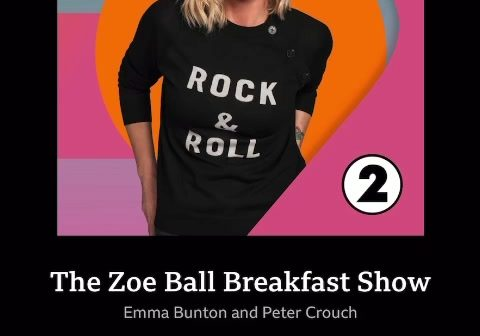 Nice to have a mention from Zoe Ball