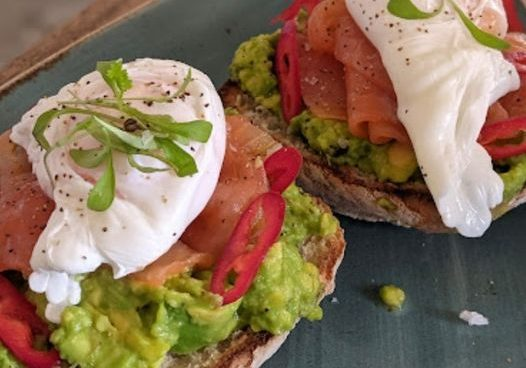 Our dish of the week is the avocado ciabatta! Served