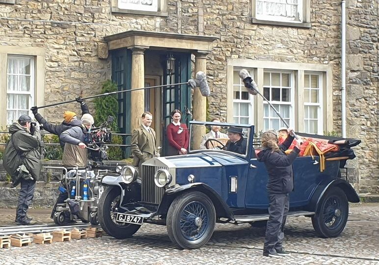 We've had a fabulous time watching the filming of All