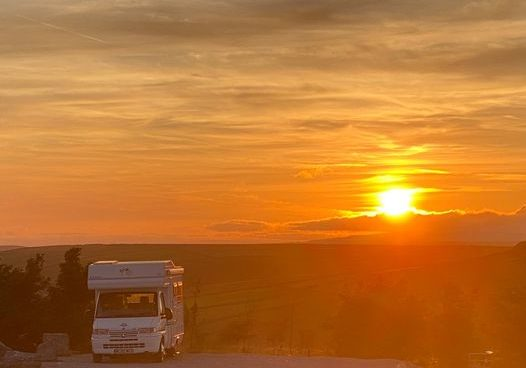 Where can you park up in your camper, enjoying stunning